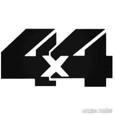 """4x4 """"12"""" - Szélvédő matrica"""