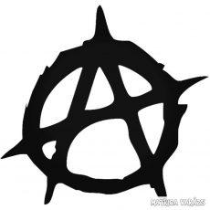 Az anarchia gyermeke - Szélvédő matrica