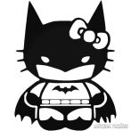 "Batman Hello Kitty ""2"" Autómatrica"