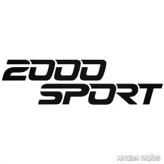 2000 Sport - Szélvédő matrica