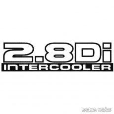 2.8Di Intercooler - Szélvédő matrica