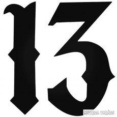 Díszes 13-as Autómatrica