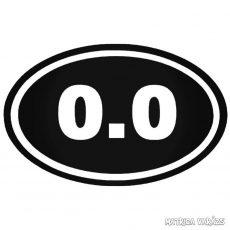 0.0 felirat Autómatrica