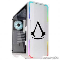 Assassins Creed logó Matrica