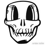 Nagy szemű koponya Autómatrica