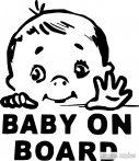 Nyúlkáló kisbaba autómatrica