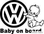 Volkswagen Baby on Board autómatrica