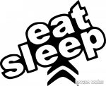 Citroen eat sleep matrica