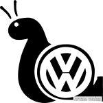 VW matrica csiga