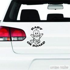 Vidám Baby on Board autómatrica