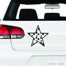 Csillagban csillagok - Szélvédő matrica