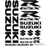 Suzuki R GSX szett matrica
