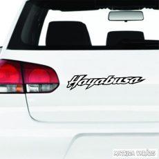 """Suzuki Hayabush """"1"""" felirat matrica"""