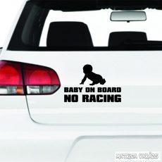Baby on Board No Racing autómatrica